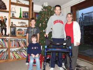 Jason Owens and his family